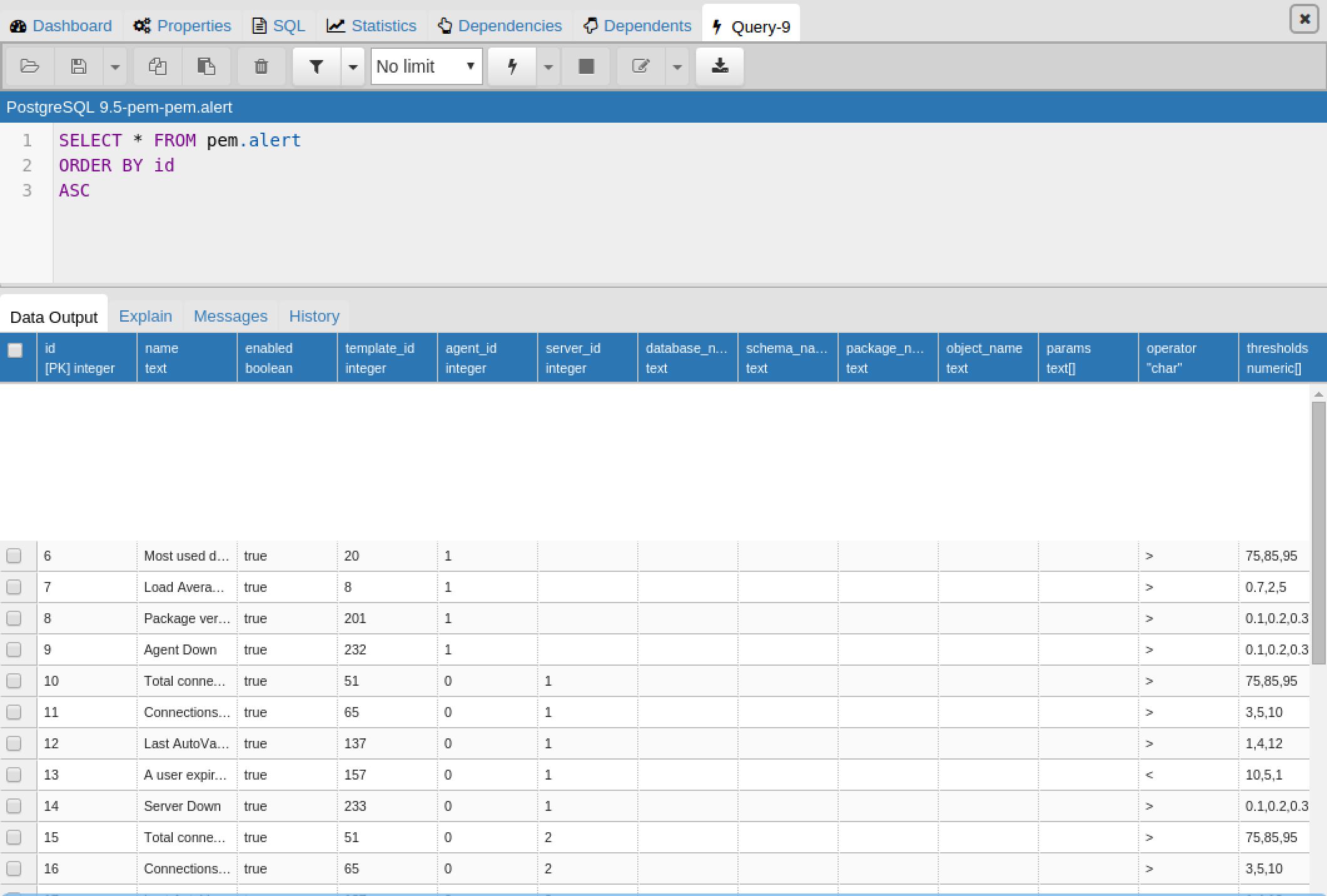 PostgreSQL: Re: PATCH: SlickGrid integration in query tool (pgAdmin4)