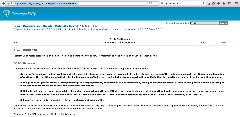 PostgreSQL: Bold itemized list entries