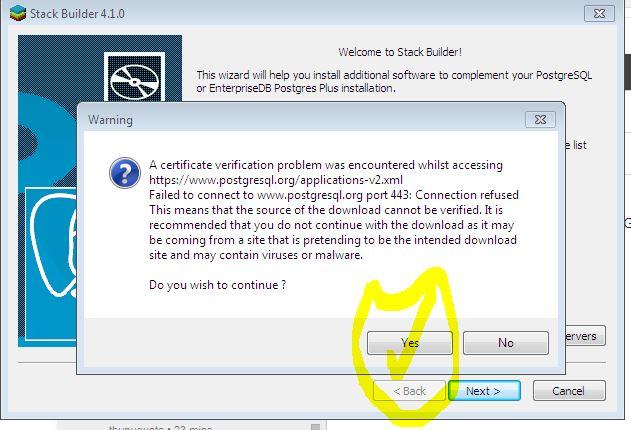 PostgreSQL: Fwd: NRSC Student Request @ Error